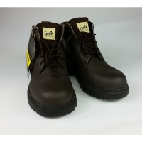 Men Leather Work Shoes