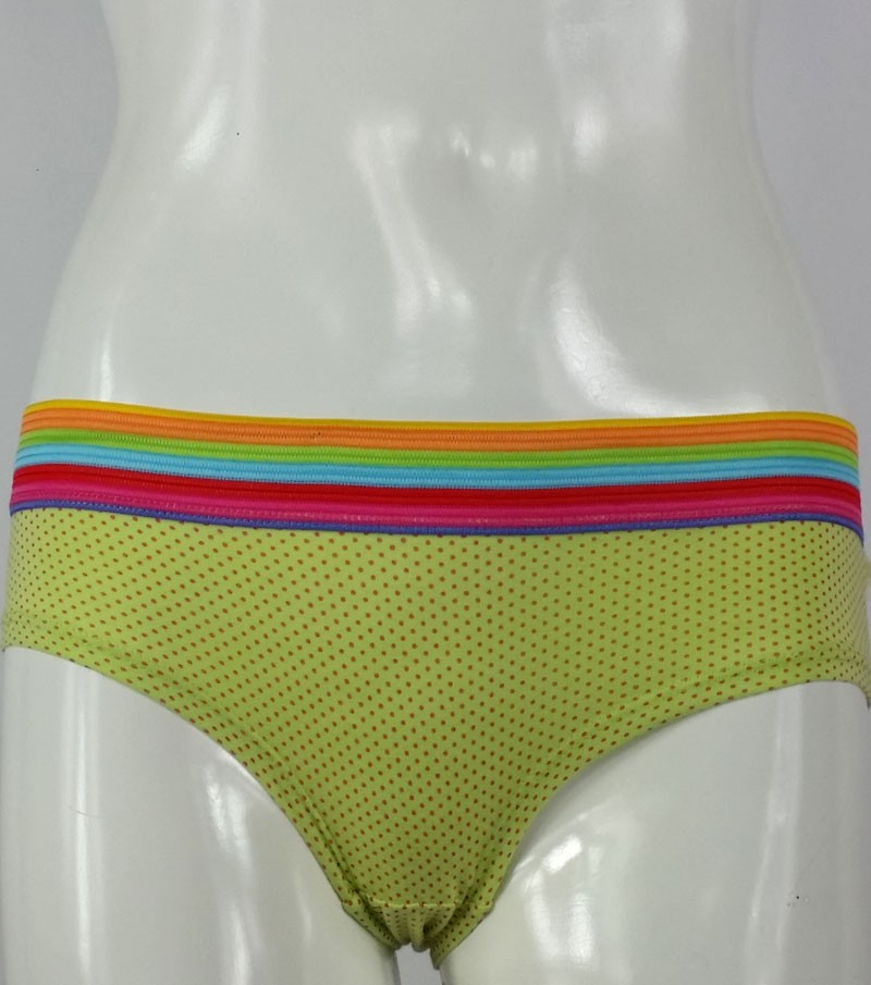 Women's Cotton Stretchy Brief (Dotted)